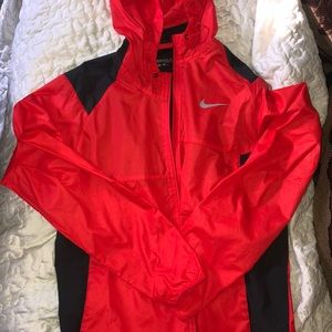 Red Nike Golf Hooded Jacket (Discontinued)